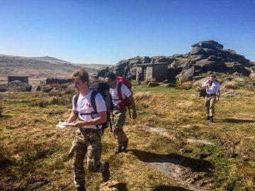 CCF Public Services Students in Dartmoor