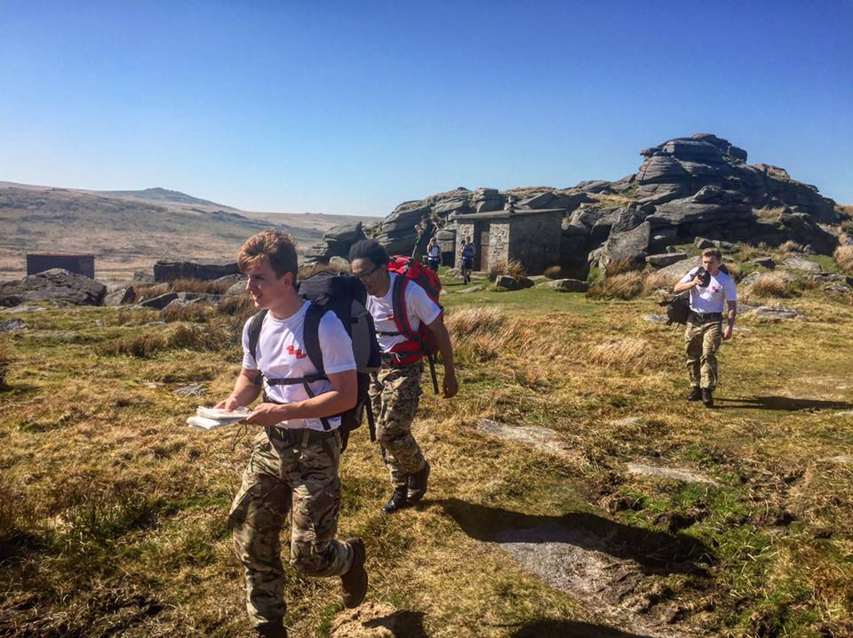 CCF Public Services Students in Dartmoor